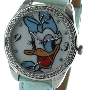 Disney Daisy Duck Watch Genuine Leather band